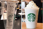 The mystery customer behind this extraordinarily detailed Starbucks order is obviously particular about their coffee. Photos / Reddit, Starbucks website