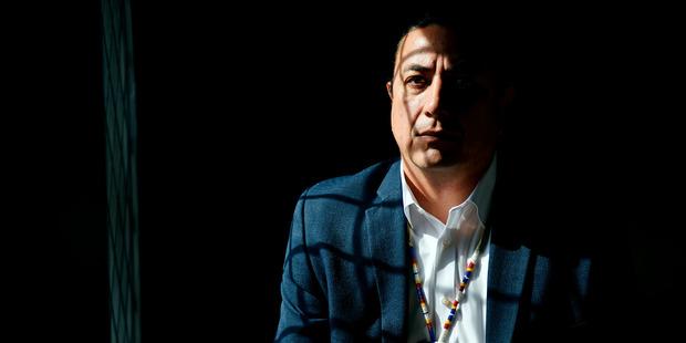 Standing Rock Sioux Chairman Dave Archambault II. Photo / Washington Post / Thomas Simonetti