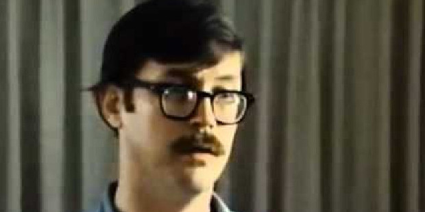 A necrophile and suspected cannibal, Edmund Kemper has an IQ of 145 and had convinced authorities that he was no risk when released from prison aged 21. Photo / Youtube