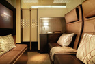 The Residence which is a three-room suite on Etihad Airways will cost about $25,000 for a single journey.