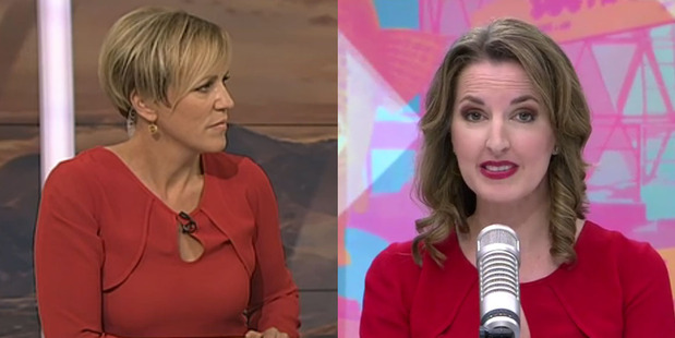 HIlary Barry and Amanda Gillies wore the same Ingrid Starnes top during Monday's broadcast.