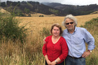 Ilona and Jack Pawlowski were stopped at a cordon at the base of Worsleys Spur within a few hundred metres of their home they call