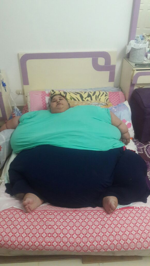 Eman Ahmed Abd El Aty has suffered a stroke that left her right arm and leg paralysed. Photo / Supplied via bitgiving.com/SaveEmanCause