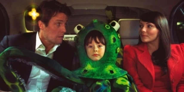 A scene from the original Love Actually film in 2003. Photo / YouTube