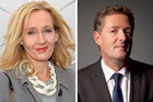 The UK 'vastly prefers' JK Rowling to Piers Morgan