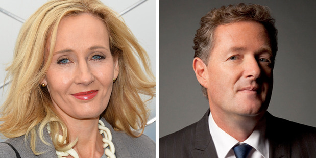 JK Rowling and Piers Morgan are having one of the most intense Twitter feuds of the year.