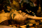 Researchers will enter the tomb of King Tutankhamun to find what is believed to be a legendary lost chamber. Photo / AP