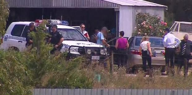 Loading Meningie arrest in relation to the alleged abduction of a Belgian backpacker. Photo / Nine News