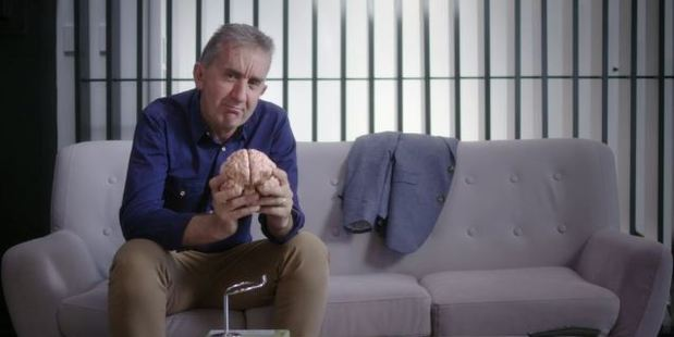 Nigel Platt in the docu-series, Mind over Money. Photo / TVNZ