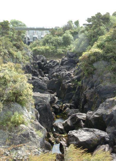 Empty: The Aratiatia Rapids tourist spills have been suspended since Rachael De Jong's death on Waitangi Day.