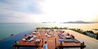 Baba Nest rooftop bar at the Sri Panwa Resort in Phuket, Thailand.