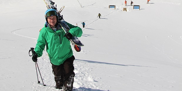 Mike Smith took a risk on a skifield job - and is still in the business.