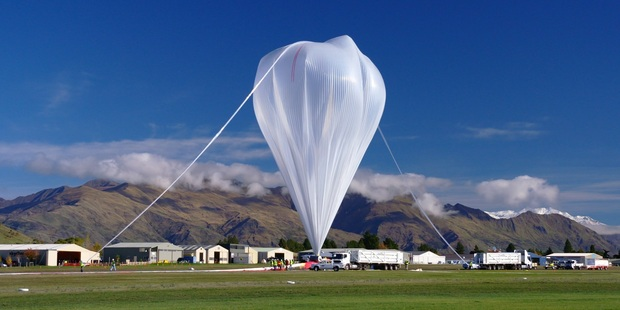 NASA's super-pressure balloon will again launch from Wanaka Airport next month. Photo / Supplied