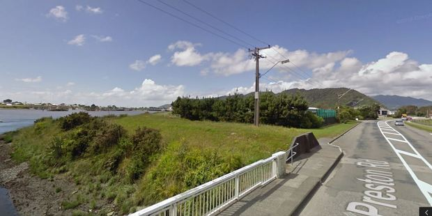 The entrance to the West Coast wilderness trail in the Greymouth suburb of Blaketown. Photo / Google Street View