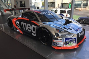 The new SMEG Racing Audi R8. Photo / Supplied