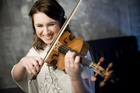 Violinist Chloe Hanslip provided  a stylish and unexpected encore.