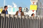 Bruce Springsteen was spotted at the Viaduct earlier this week. Photo / Facebook
