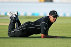 Wrongly grounded: Kiwi great Ross Taylor was desperately needed in the T20 against the rampant South Africans. Photo / Photosport