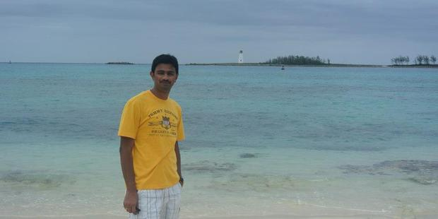 Srinivas Kuchibhotla, 32 - died in the hospital later from his wounds. Photo / Sourced via GoFundMe