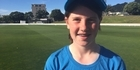 Watch: Watch: Black Caps training session for Levin teen