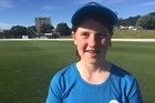 Erin Buckland wins her cricket team a training session with the black caps in Wellington