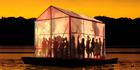 The Floating Theatre sails into Auckland for the region's fringe arts festival. Photo / Supplied