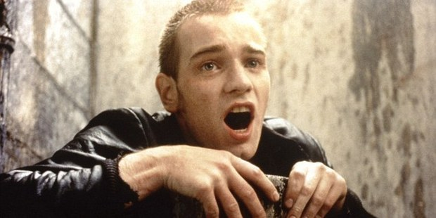 Loading Ewan McGregor in the infamous toilet scene from the original Trainspotting. Photo/Miramax