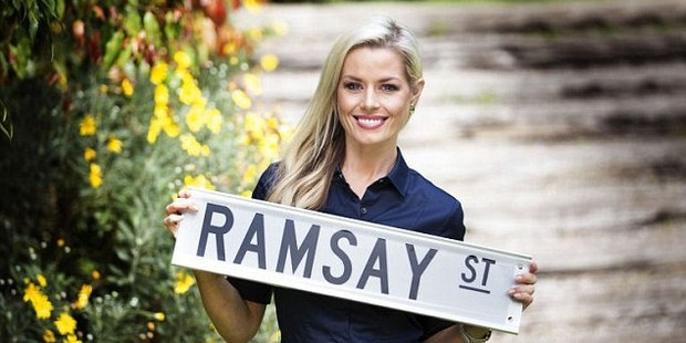 Madeleine West has returned as her character Dee Bliss... but with a twist! Photo/Channel 10