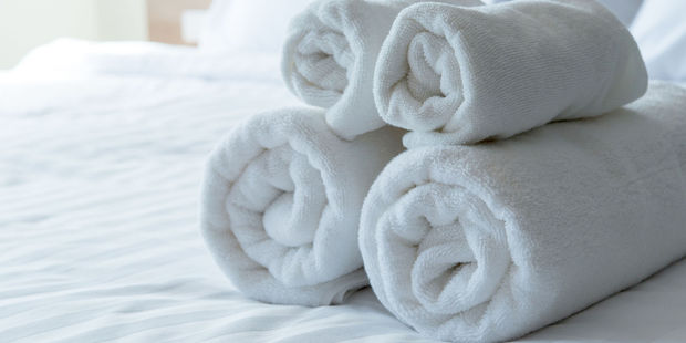 But those towels are not for you. Photo / 123RF