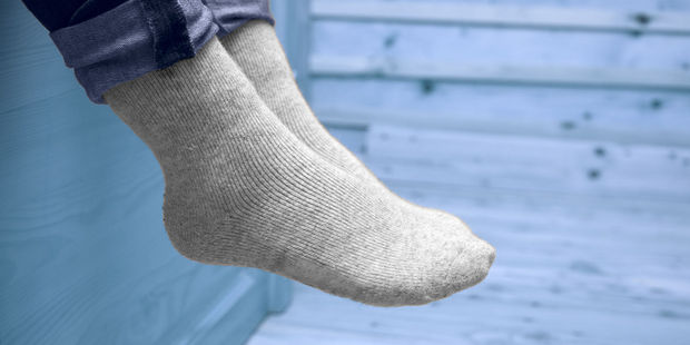 Old socks made of microfiber material as they are great for attracting dirt. Photo / 123RF