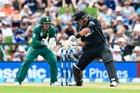 Batsman Ross Taylor cuts a fine figure. Photo / Photosport