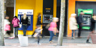 BNZ, ASB, and Kiwibank ATMs on Queen Street. Photo / File