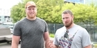 Watch: Olympic Shot Putters Tom Walsh and Ryan Crouser