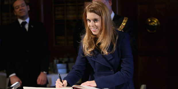 Princess Beatrice has followed in the footsteps of her father the Duke of York by setting herself up as a business matchmaker and winning her first high-profile client. Photo / Getty