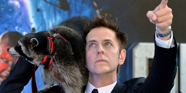 Loading James Gunn attends the UK Premiere of 'Guardians of the Galaxy'. Photo / Getty Images