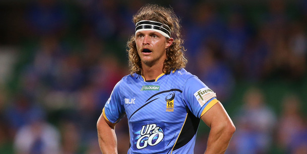 Nick Cummins in action for the Western Force in 2015. Photo / Getty Images.