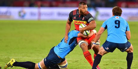 The Stormers, looking like the Crusaders, against the Bulls last season. Photo / Getty