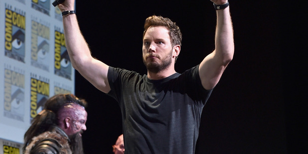 Actor Chris Pratt attends the San Diego Comic-Con International 2016. Photo / Getty Images