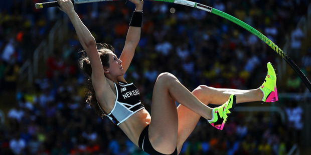 Eliza Mccartney competes during the Rio 2016 Olympic Games. Photo / Getty Images