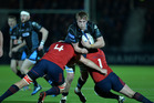Could teams such as the Glasgow Warriors and Munster become accustomed to travelling to Tbilisi, Munich, Toronto or Houston to play their Pro12 matches? Photo / Getty Images.