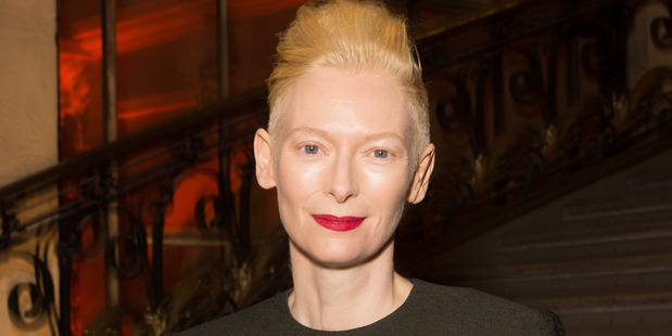Tilda Swinton, seen here earlier in 2017, is a favourite to take over controls of the Tardis. Photo/Getty