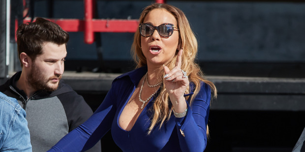 "Mariah Carey says she was ""victimised"" over her disastrous New Year's Eve performance. Photo / Getty Images"