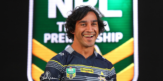 Jonathan Thurston's North Queensland Cowboys are one of just two sides that finished 2016 having made a profit. Photo / Getty Images.