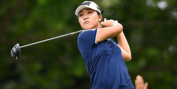 Lydia Ko plays a shot during round one of the Honda LPGA Thailand. Photo / Getty
