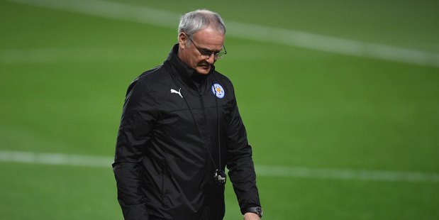 Former Leicester City manager Claudio Ranieri. Photo / Getty Images.