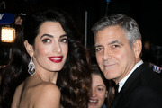 Amal Clooney and husband George Clooney attend the 'CESARS Film Awards 2017' ceremony at Salle Pleyel. Photo / Getty Images