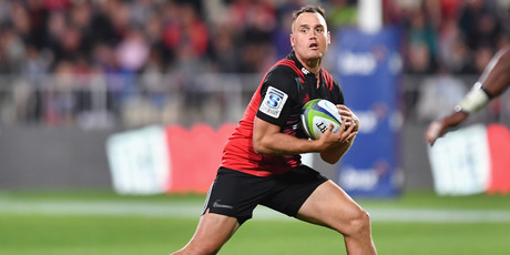 Israel Dagg impressed in the Crusaders' victory over the Brumbies. Photo / Getty