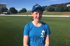 Erin Buckland, 13, got to meet Black Caps players and train with them this afternoon.