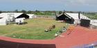KAPA HAKA ACTION: Hawke's Bay Regional Sports Park's William Nelson Athletics precinct in Hastings on February 20 being transformed for Te Matatini kapa haka festival on February 23-26. PHOTOS/DOUG LAING