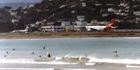 Lyall Bay has suffered a wastewater leak. Photo / Wikimedia